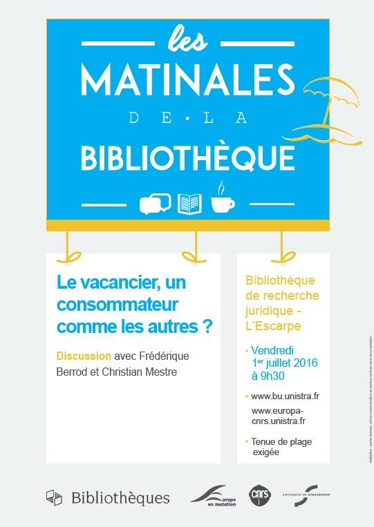 Le vacancier, un consommateur comme les autres ? discussion avec F. Berrod et C. Mestre