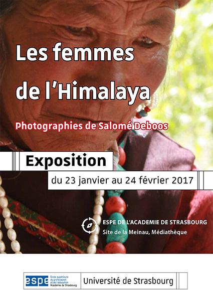 """Exposition photos """"Femmes de l'Himalaya"""" à la médiathèque de l'ESPE"""