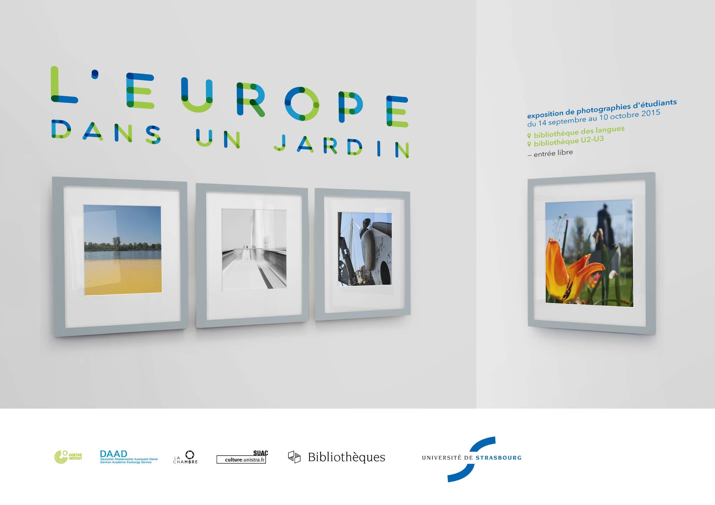 L'Europe dans un jardin : une exposition de photographies