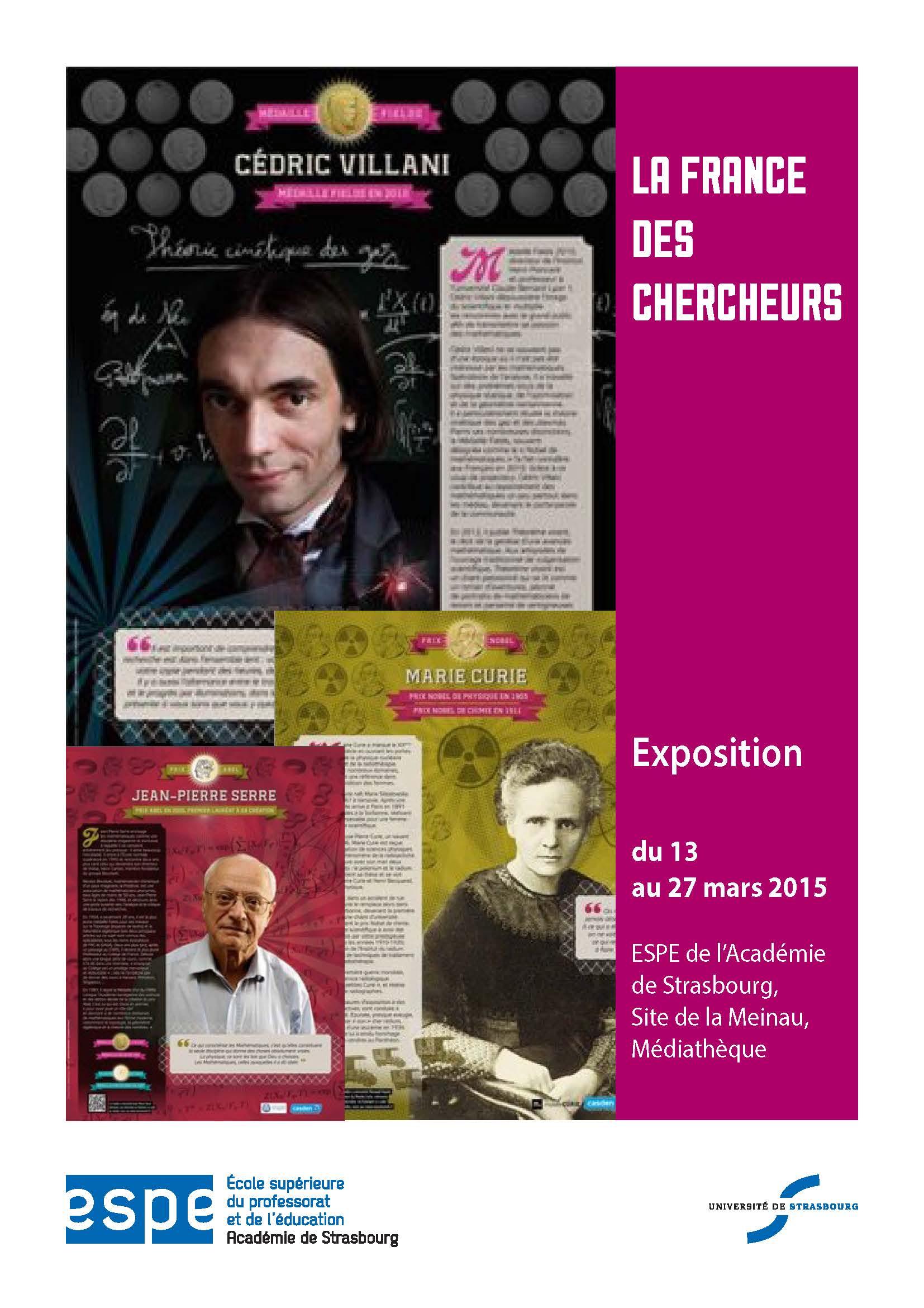 La France des chercheurs : portraits de Prix Nobel