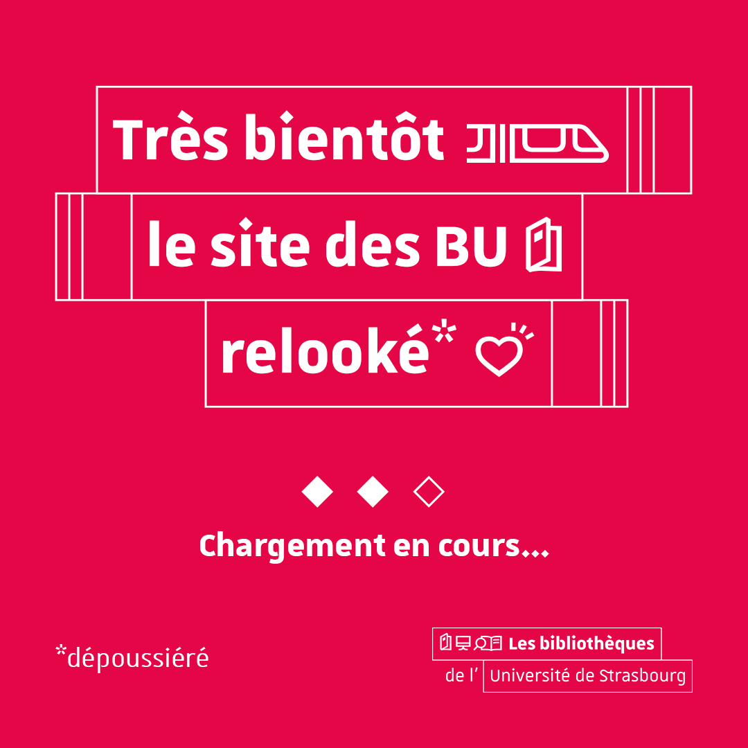 Le nouveau site des BU bientôt lancé