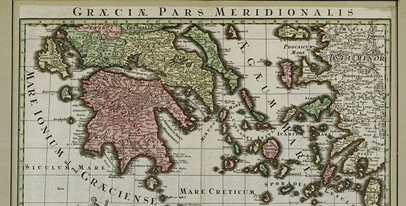 A la découverte des cartes anciennes de géographie