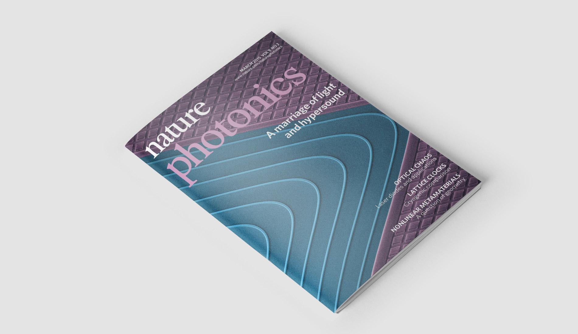 Découvrez la revue d'optique Nature photonics !