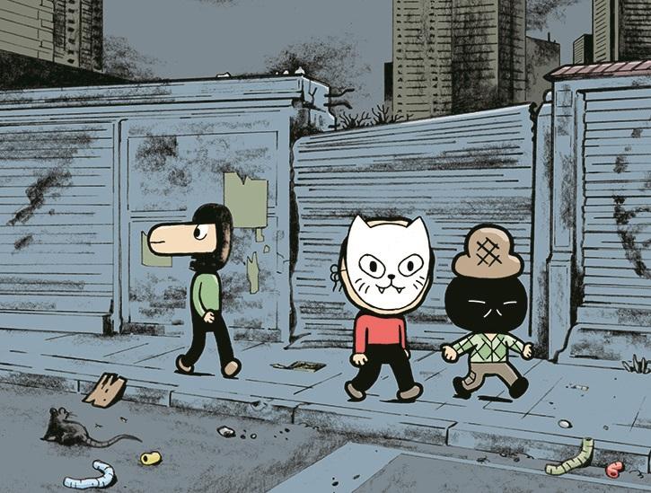Sascha Hommer : exposition de bande dessinée et rencontre avec l'auteur